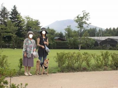 浅間山もクッキリ