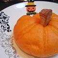 写真: かぼちゃパン