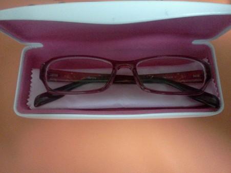 ムスメのメガネ