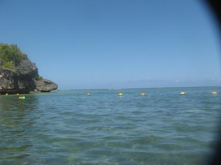 アルパット島から水平線を眺める