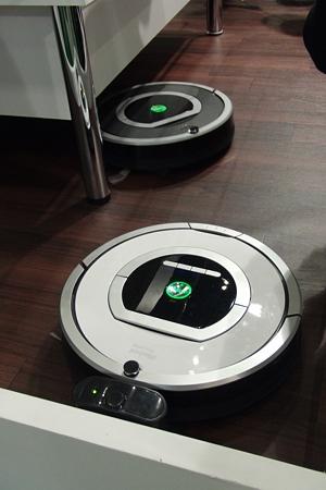 ルンバがたくさん(iRobot)