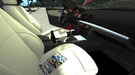 GTAIV BMW 1シリーズ120I 小物2